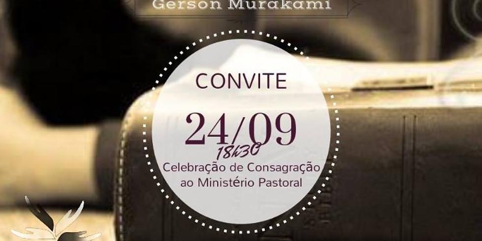 Celebração de Consagração ao Ministério Pastoral