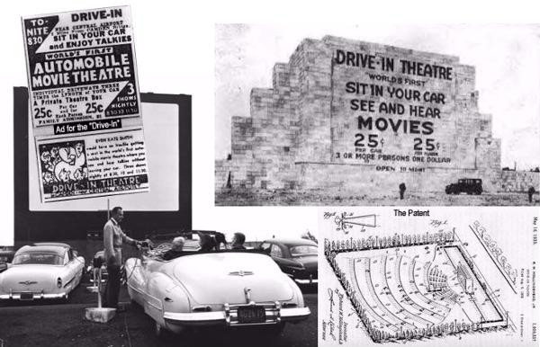 1st Ever Drive in Theater!