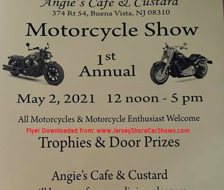 Angie's Cafe 1st Annual Motorcycle Show