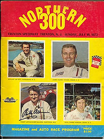 Trenton Speedway Program July 1972