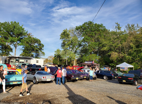 Cruising the Forked River Diner Car Show Raises $1,344.00 for Ocean of Love in 4 hours!