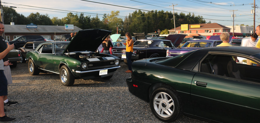 Cruising the Forked River Diner 9.27.19