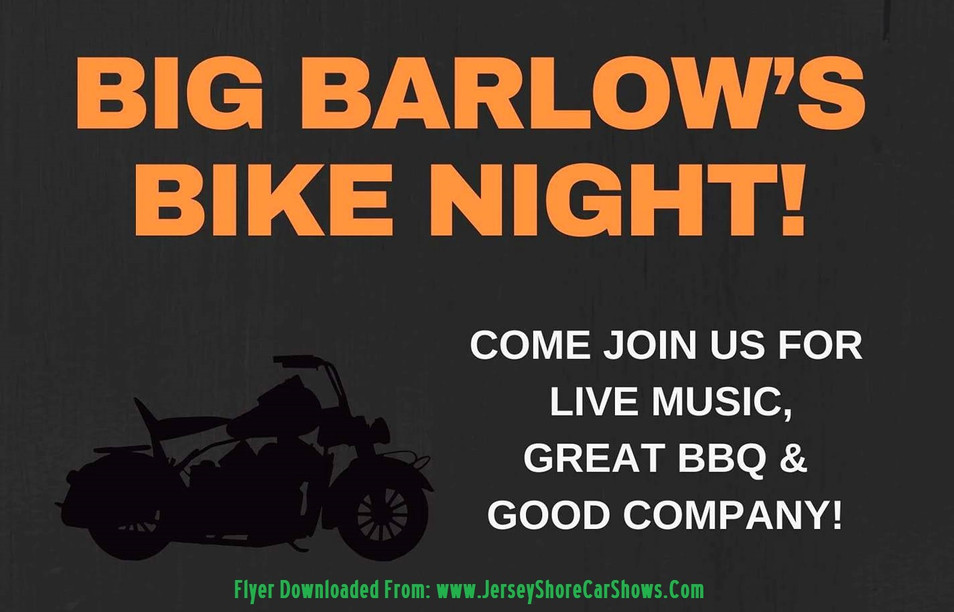 Big Barlow's Bike Night