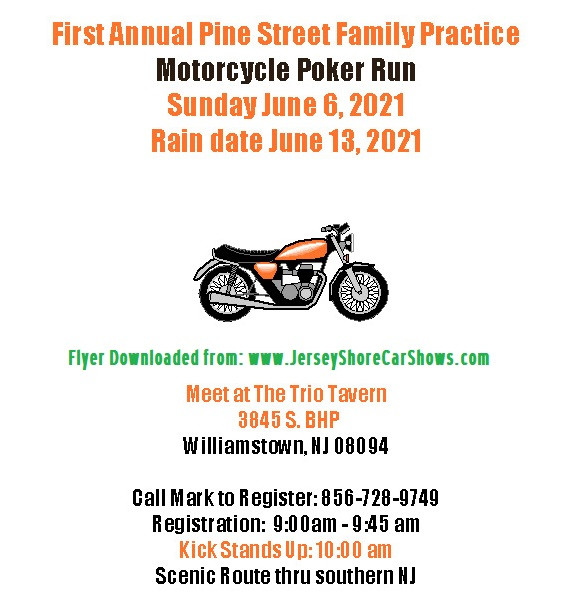 Paul A Van Houten Memorial Poker Run