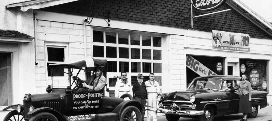 Lakehurst Motors 1950's