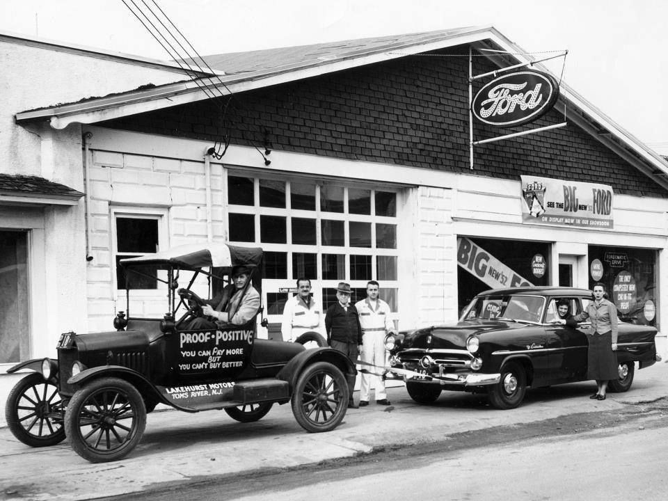 Lakehurst Motors 1950's