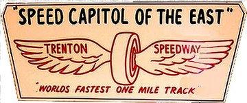 Trenton Speedway Sign