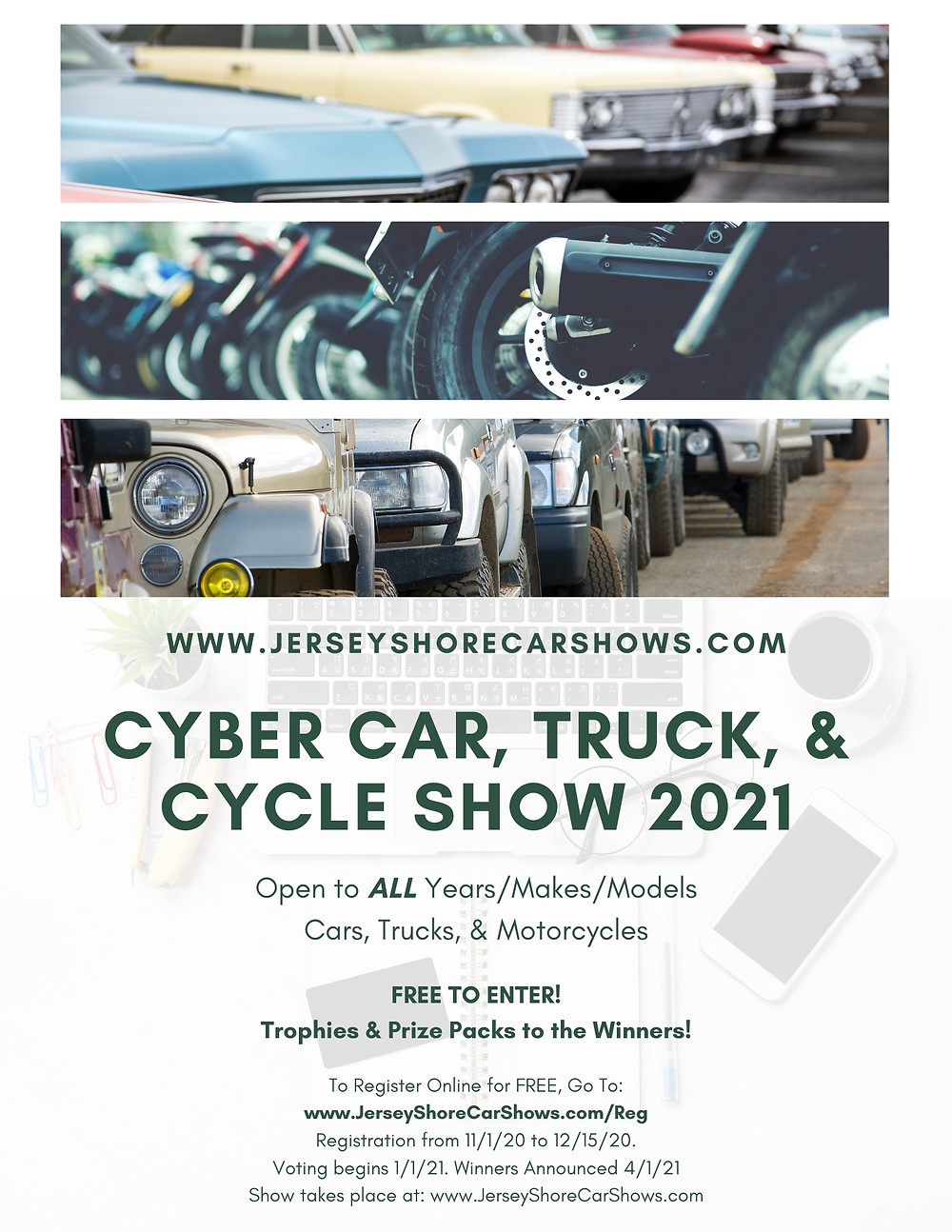 2nd Annual Cyber Car, Truck, and Cycle Show