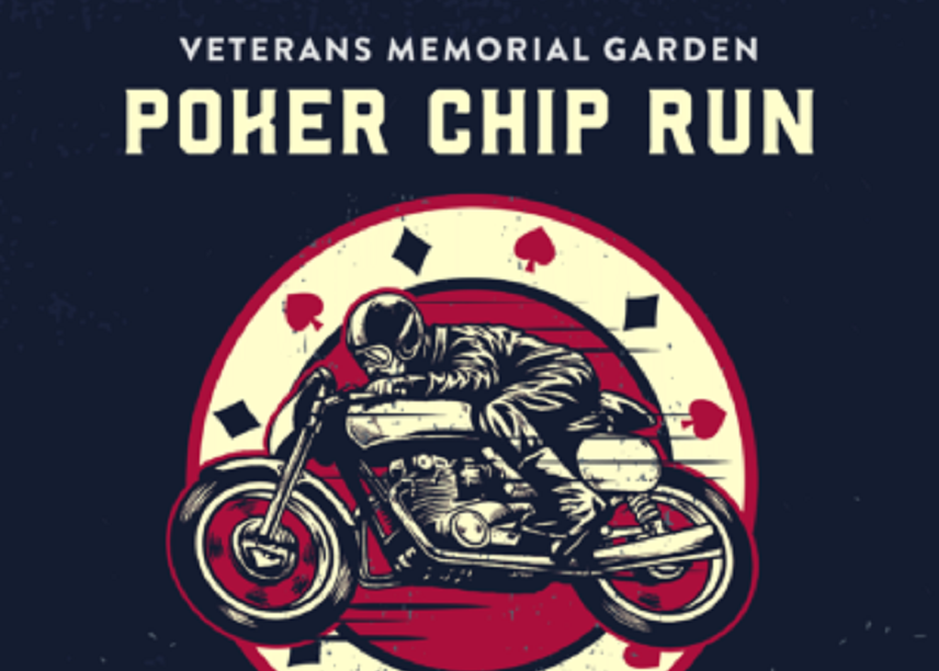 Veterans Memorial Poker Chip Run