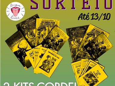 SORTEIO - 2 Kits Literatura de Cordel