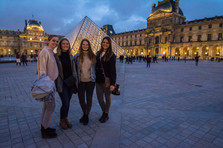 Ladies at the Louvre