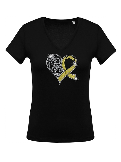 Bling V-Neck T-Shirt