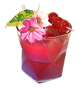 flavor red cocktail