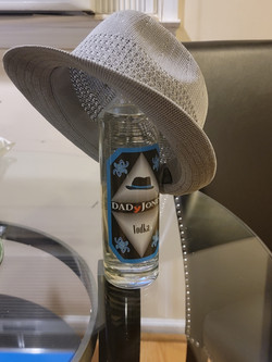 BOTTLE WITH HAT