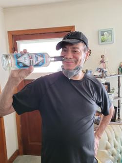 MR. CLYDE bottle drinking