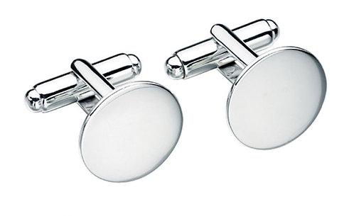Engravable Round Cufflinks
