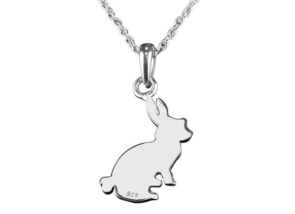 Sterling Silver Rabbit Necklace