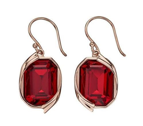 Genuine Swarovski Rose Gold Earrings