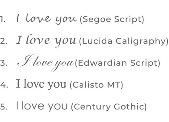 Extras: Engraving