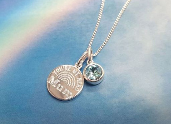 MY HERO - necklace with charm