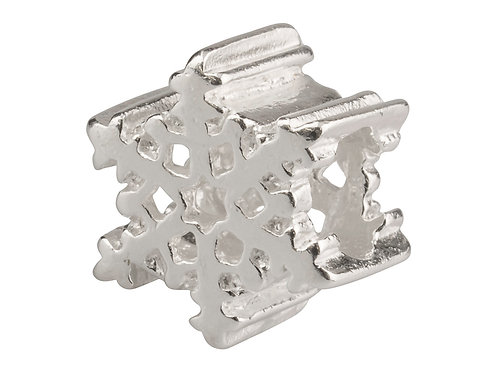 Solid Sterling Silver Sliding-on Charm