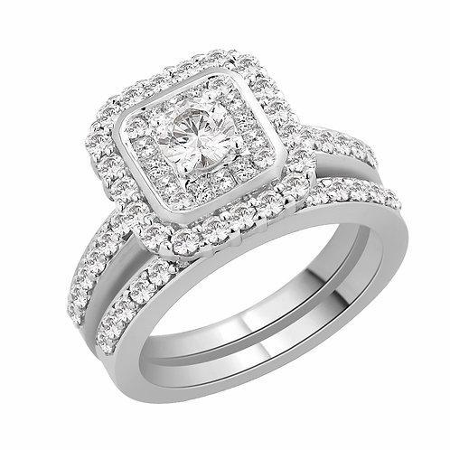 COMING SOON - 1.5ct Diamond Bridal Set