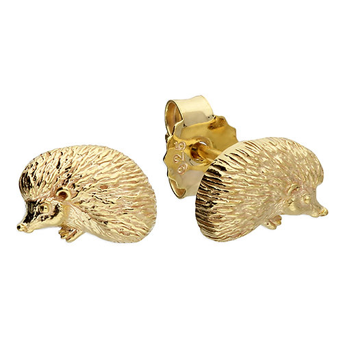 Cute Hedgehog Studs