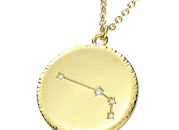 Zodiac Sign Gold Plated necklace