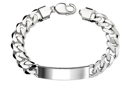 Heavy Link Men's Engravable Bracelet