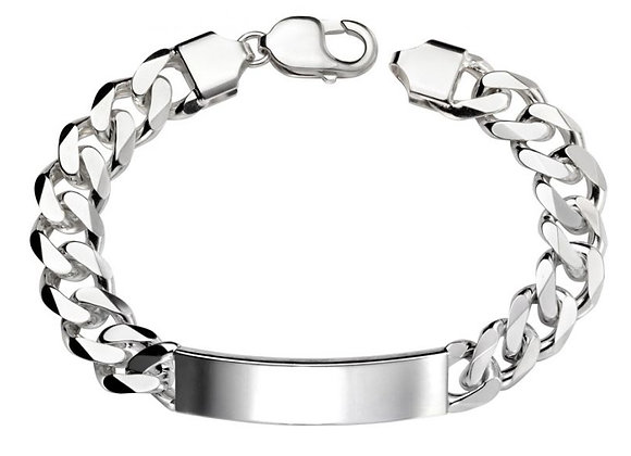 Heavy Link Men's Engravable Bracelet