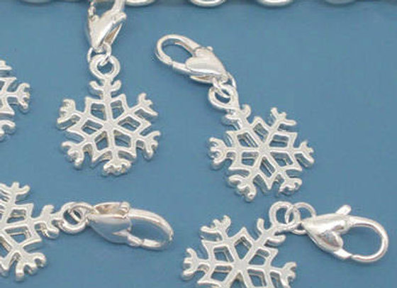 Snowflake Charm in Gift Card