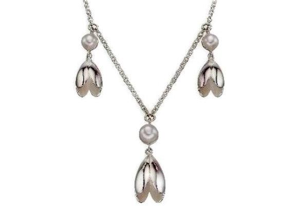 Snowdrop Pearl Necklace