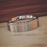Wedding bands that are a little differen