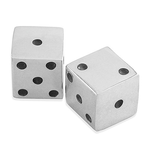 Sterling Silver Pair of Dice