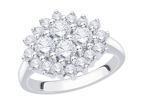 COMING SOON - 1.50ct Cluster Ring