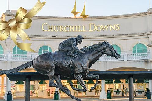 Churchill Downs I Golden Ticket Raffle