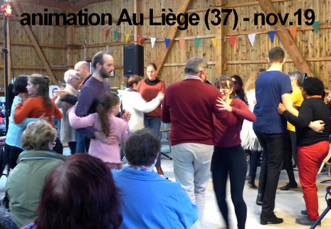 animation fête - Le Liège - 3 nov.19