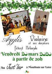 St Patrick - Montlouis - 20 mars 2020