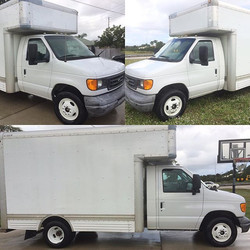 Need your work truck detailed_ We do it all! Call today to schedule your detail!