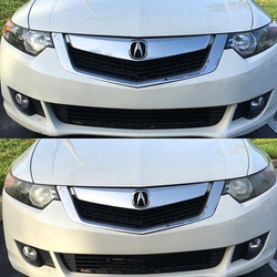 Headlights cleaned and polished! Only $15! Call me to schedule! 561-262-3228