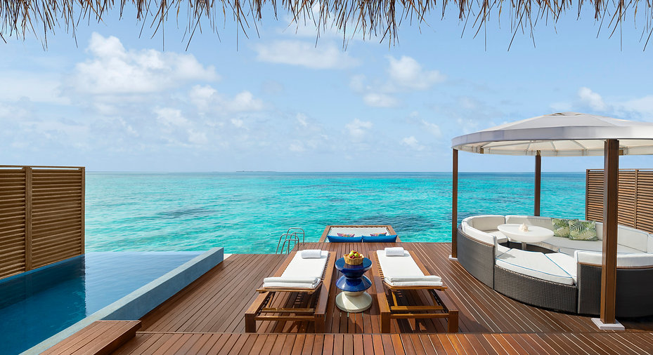 Fabulous Over Water Villa Maldives | Cozymoons | Best Luxury Hotels in the Maldives