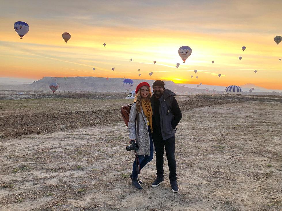 Aanam C & Gerard in Turkey with Cozymoons