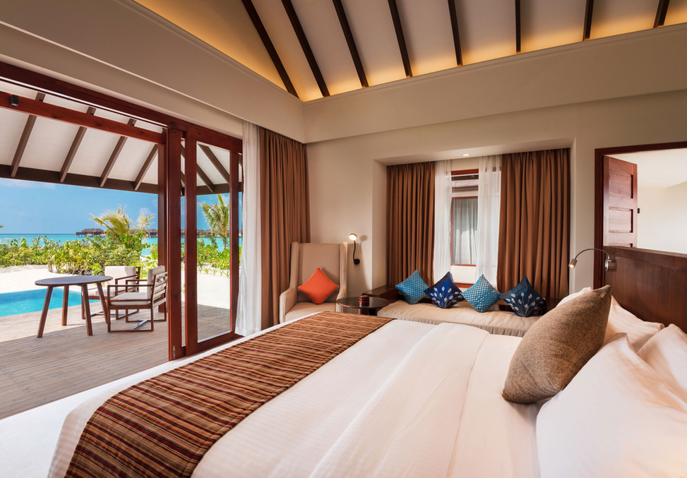 Beach-Villa-with-Pool---Bedroom-View---V