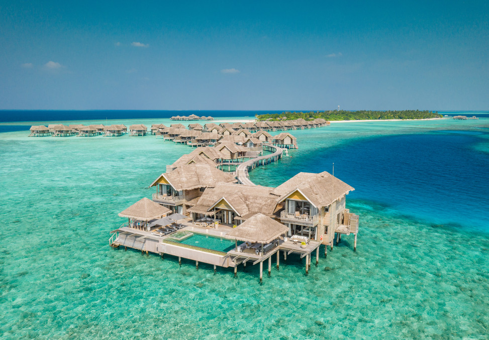 Over Water Residence and Villas Aerial.j