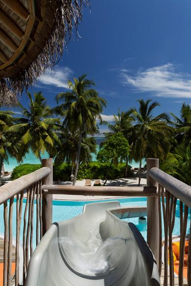 The Slide at Villa 15 | Soneva Fushi Maldives