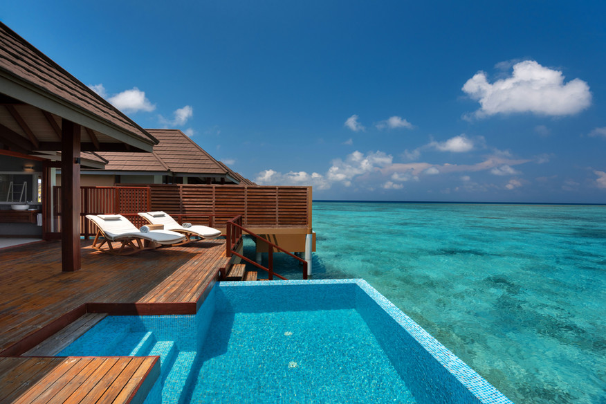 Water-Villa-with-Pool---Deck-and-Pool-Vi