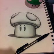 Power Up Mushroom