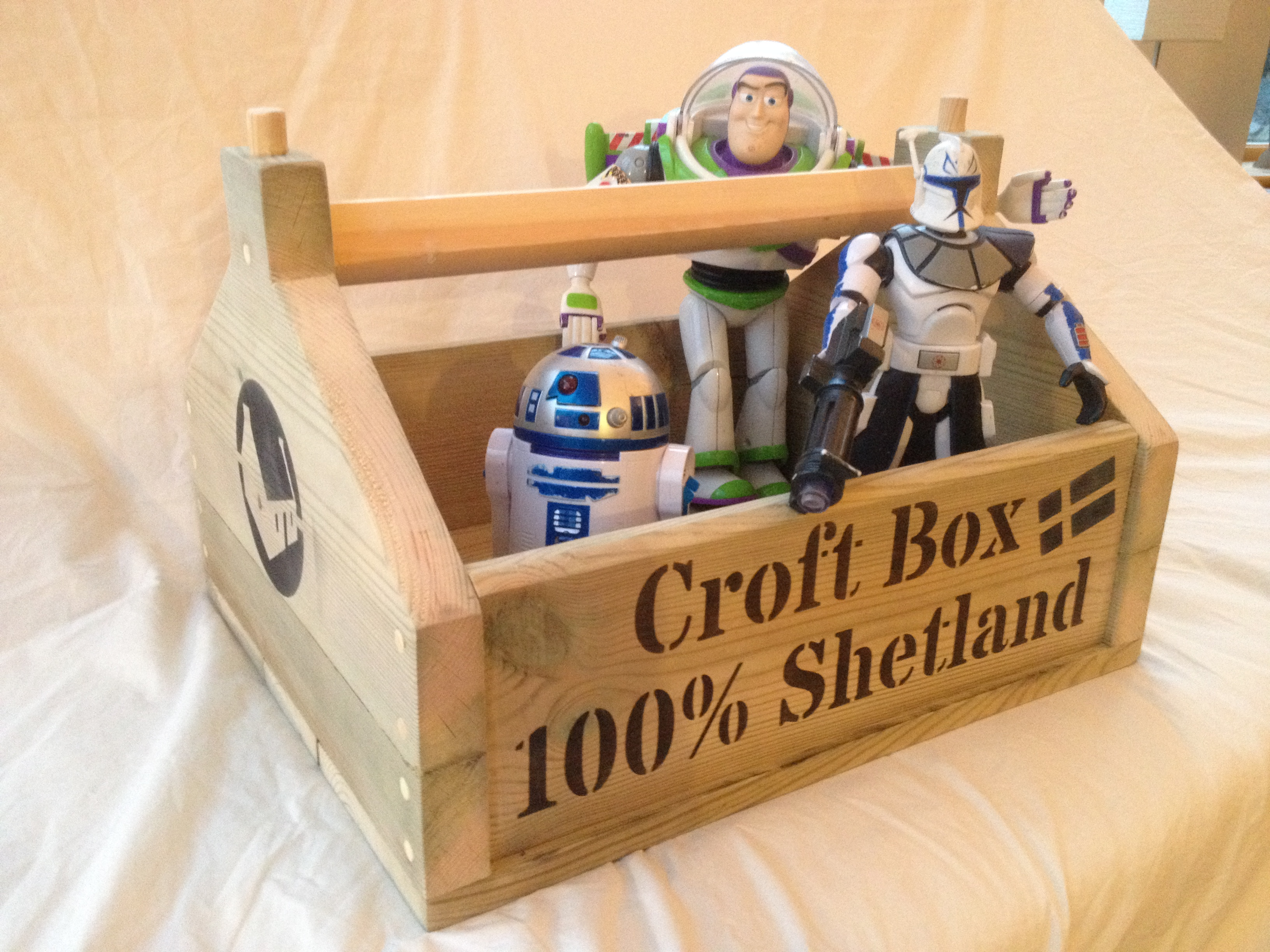 PERSONALISED CROFT BOX
