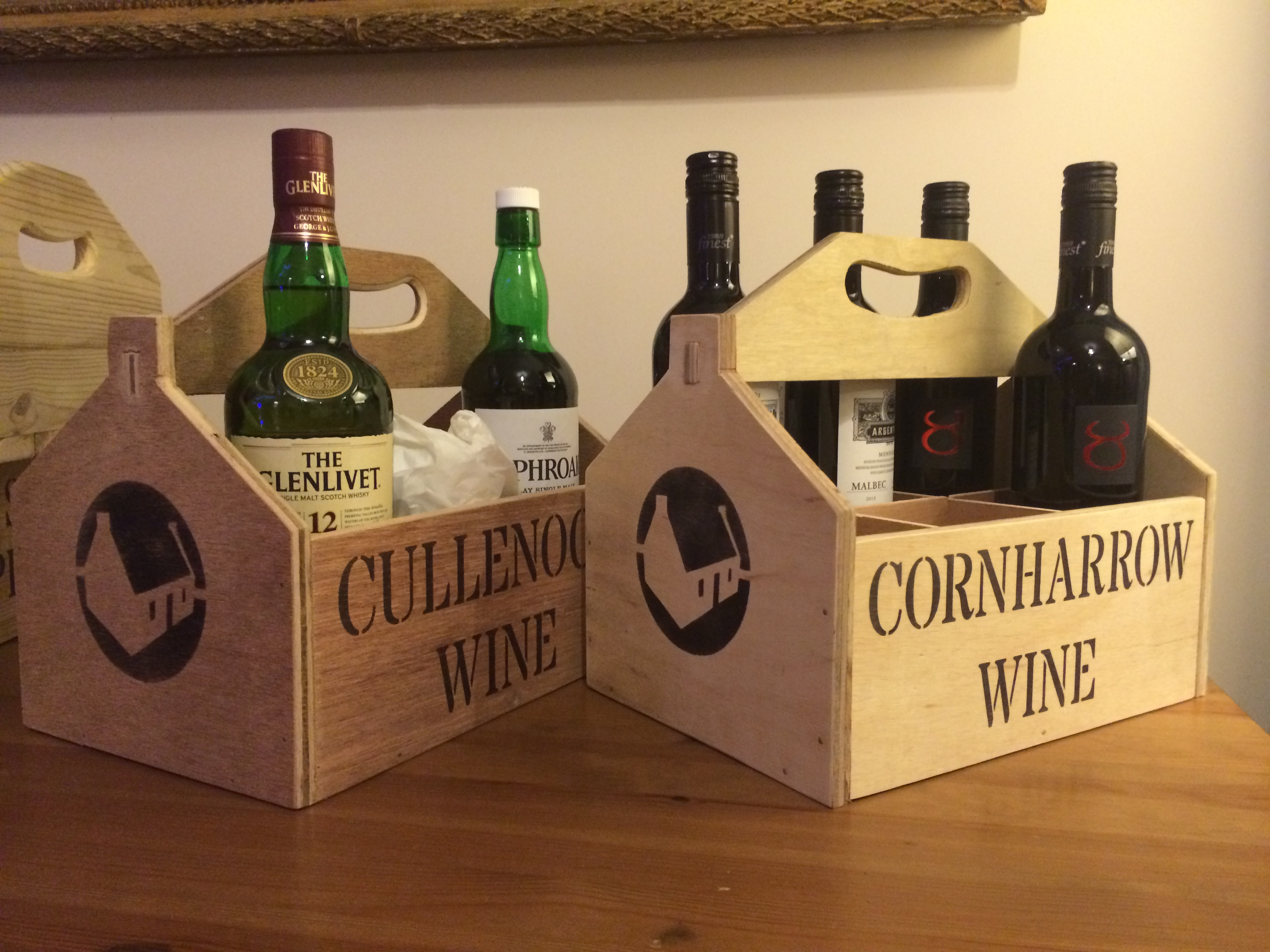 BESPOKE WINE BOXES