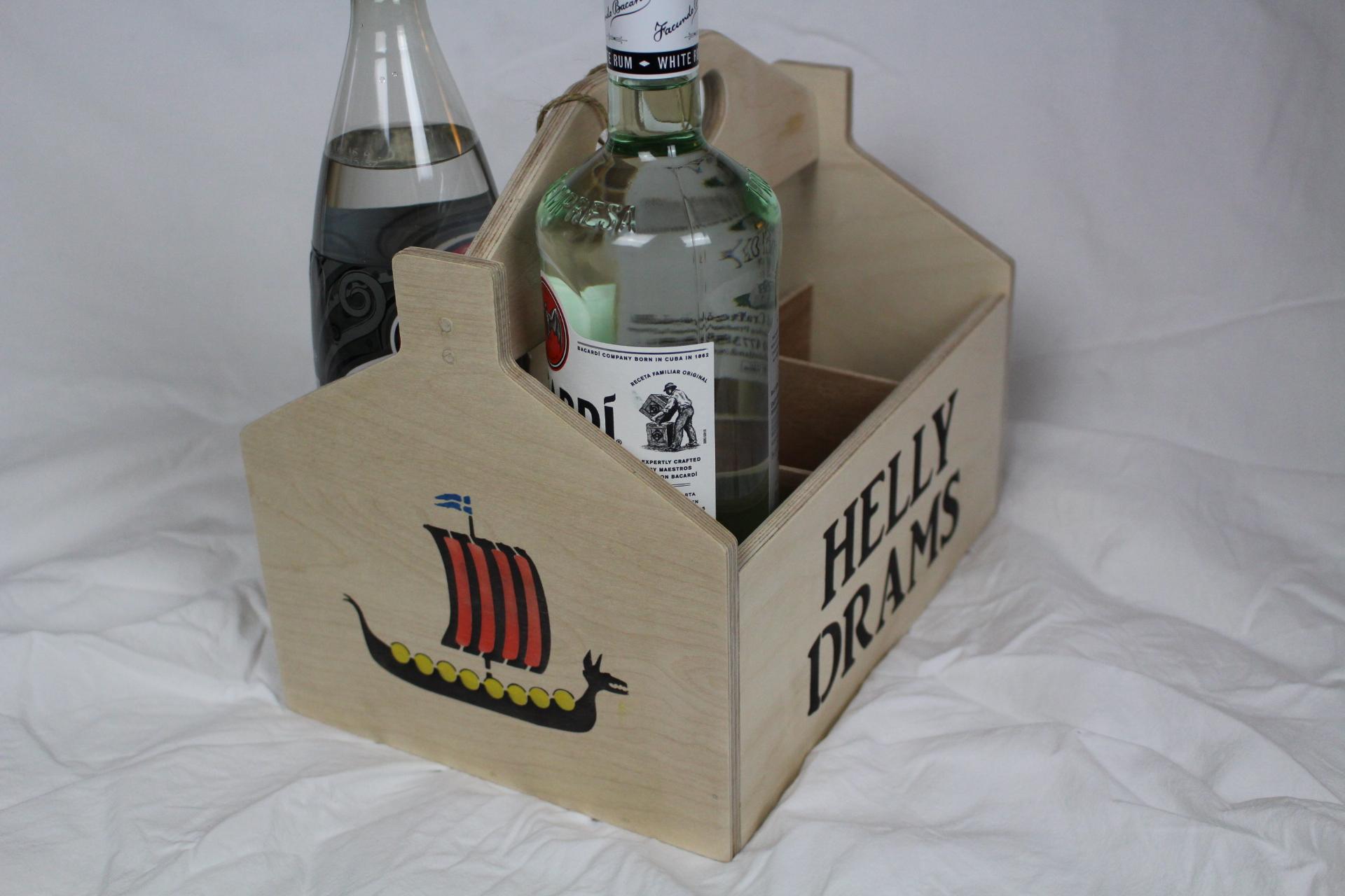 Drams Box Viking galley